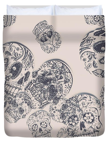 Inks And Pieces Duvet Cover