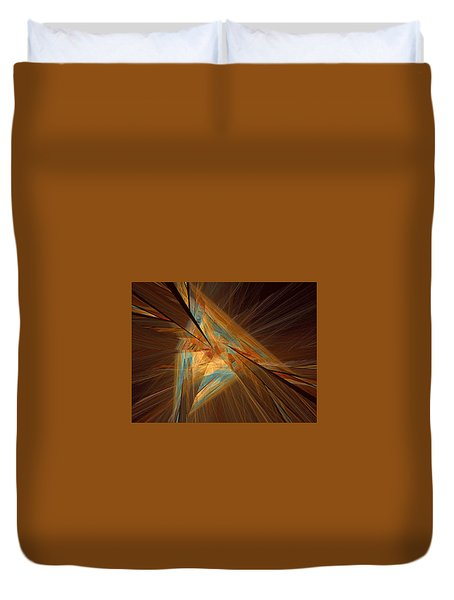 Inlaid Duvet Cover