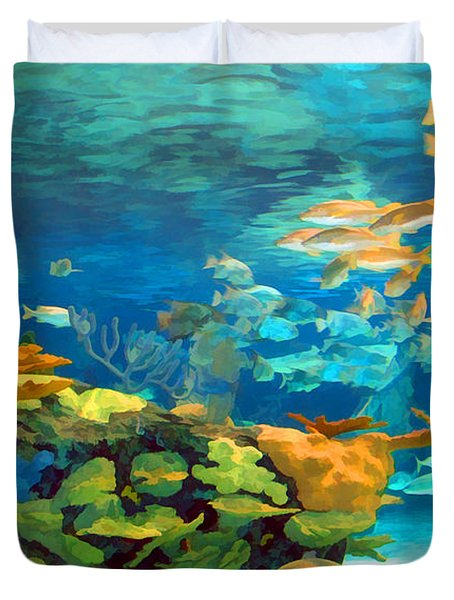 Inland Reef Duvet Cover