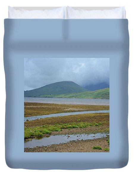 Inland Shores Of Aasleagh Duvet Cover by Matt MacMillan