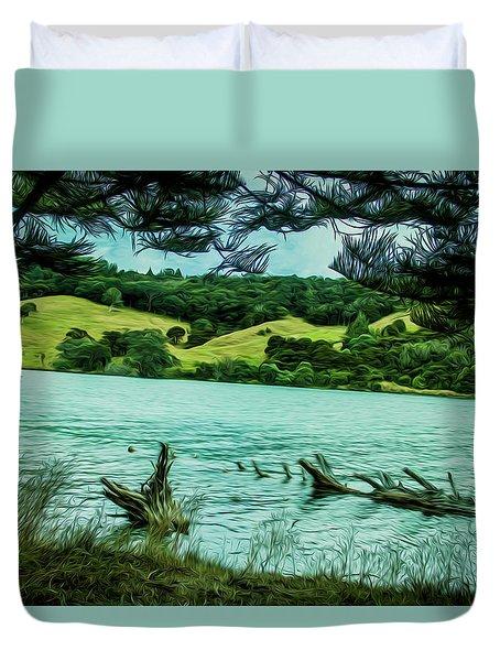 Inlet Duvet Cover