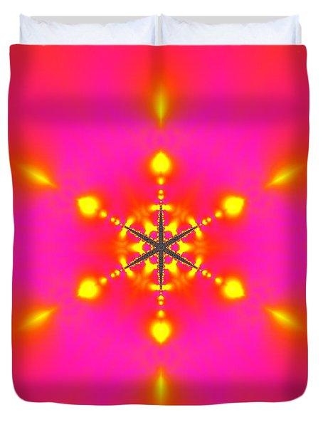 Duvet Cover featuring the digital art Inner Comet 3 by Robert Thalmeier