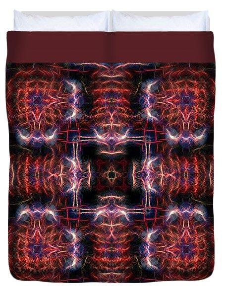 Inner Compass 3 Duvet Cover by William Horden