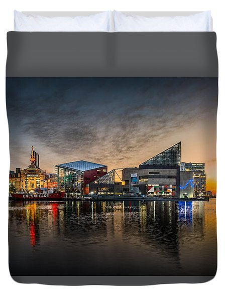 Inner Harbour  Duvet Cover