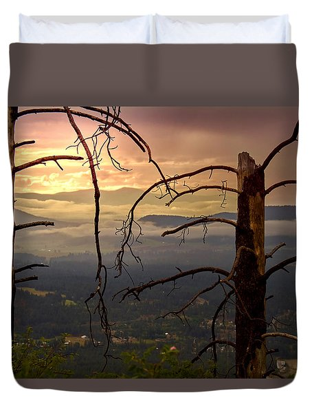 Inner Journey Duvet Cover
