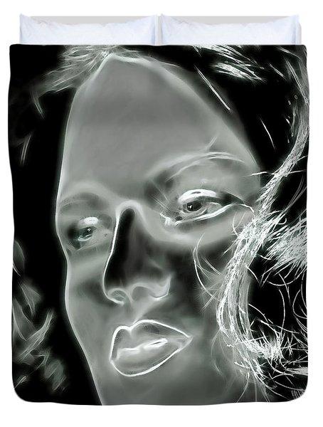 Inner Wisdom Duvet Cover by Pennie  McCracken