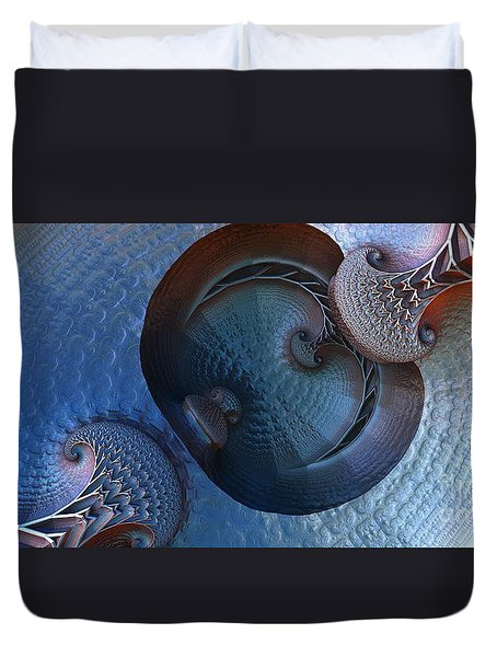 Innermost Reflections Duvet Cover