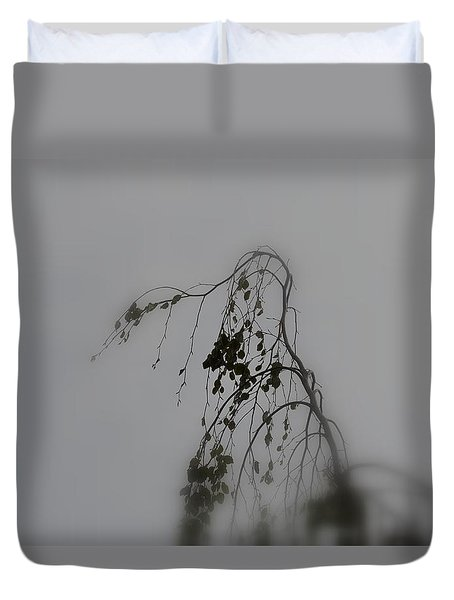 Duvet Cover featuring the photograph Innner  Mist by Richard Ricci