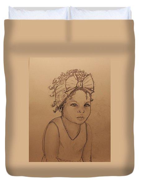 Sugar Baby ... Drawing Duvet Cover