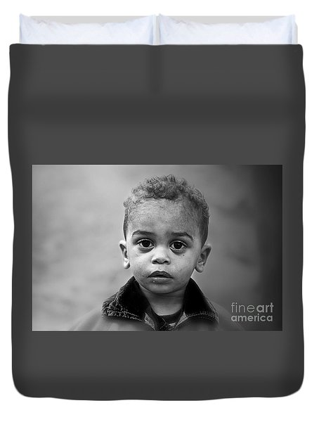 Innocence Duvet Cover by Charuhas Images