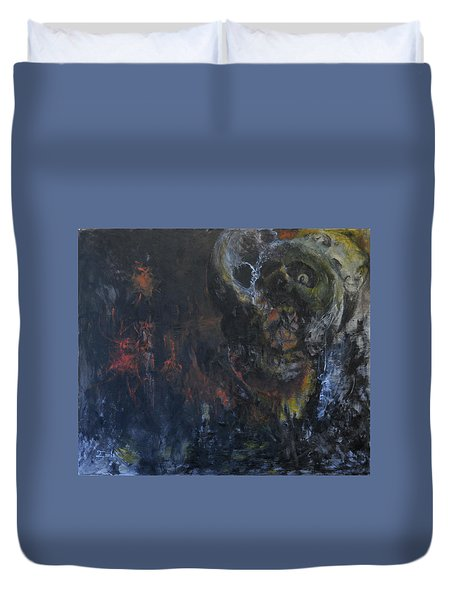 Innocence Lost Duvet Cover by Christophe Ennis