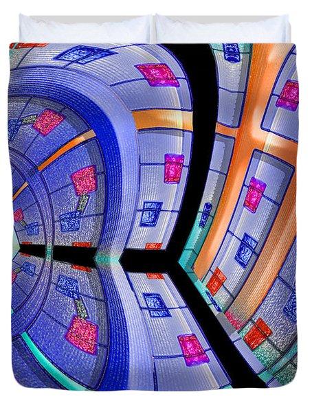 Inroads Duvet Cover by Paul Wear