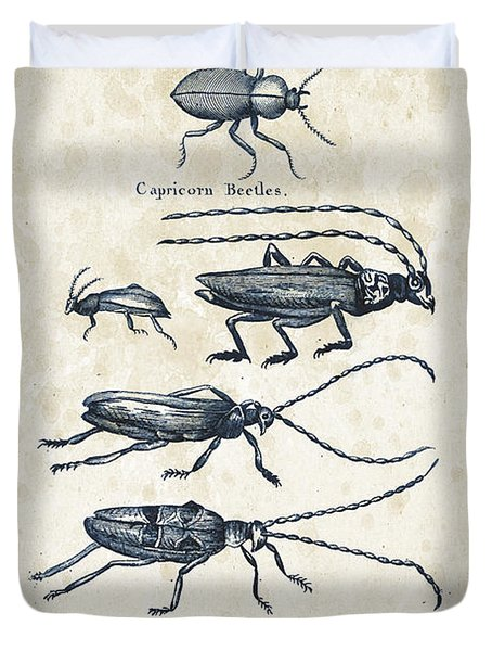 Insects - 1792 - 03 Duvet Cover by Aged Pixel