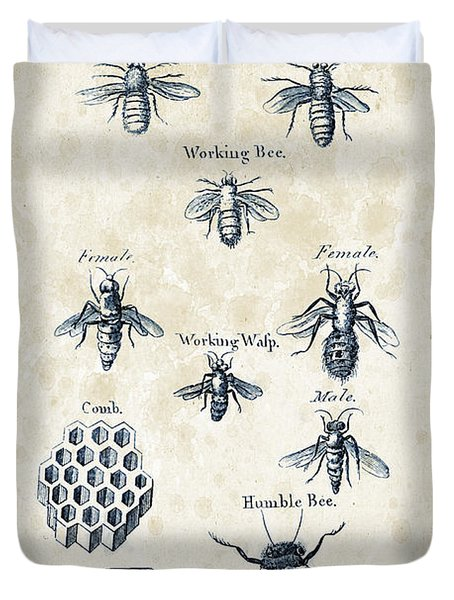 Insects - 1792 - 14 Duvet Cover