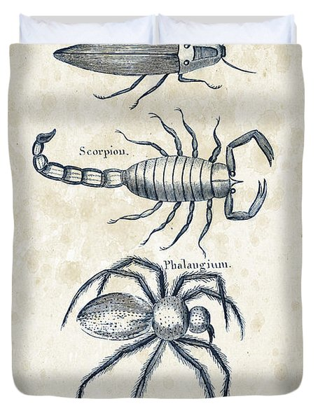 Insects - 1792 - 19 Duvet Cover