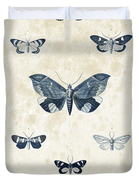 Insects - 1832 - 05 Duvet Cover by Aged Pixel