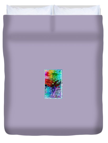 Insects And Incense Duvet Cover