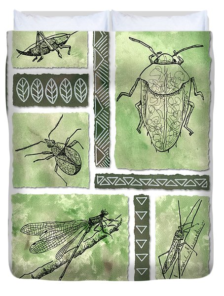 Insects Of Hawaii I Duvet Cover