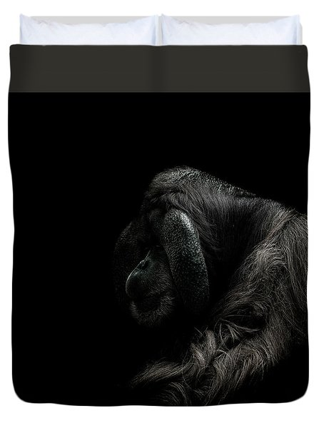 Insecurity Duvet Cover by Paul Neville