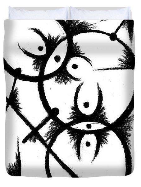 Insemination  Duvet Cover