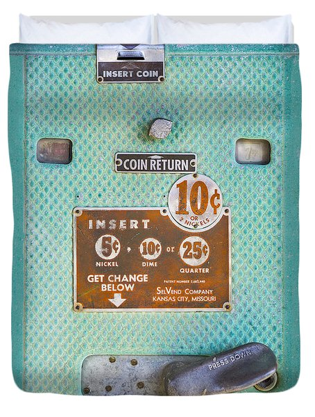 Insert Coin Duvet Cover by Christina Lihani