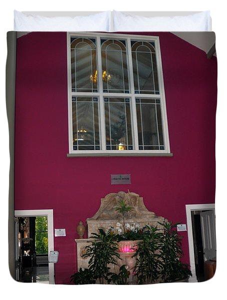 Inside Entry Lyrath Estate Hotel Duvet Cover