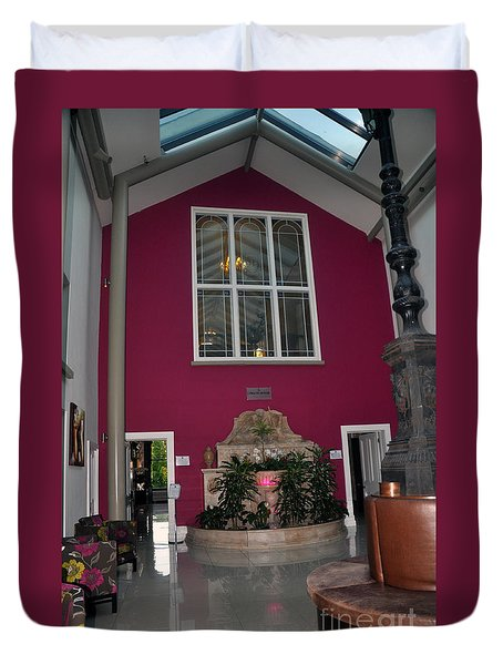 Inside Entry Lyrath Estate Hotel Duvet Cover by Cindy Murphy - NightVisions