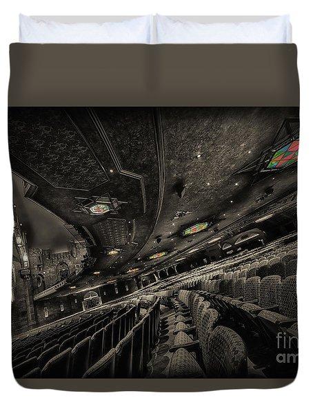 Inside Fox Theater Duvet Cover