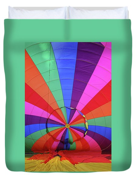Inside Out Duvet Cover