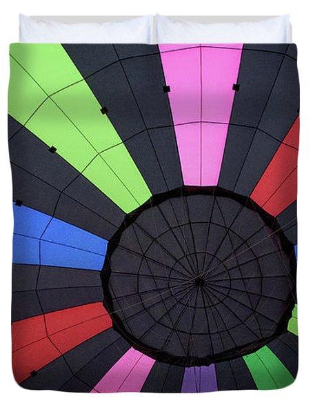 Inside The Balloon Duvet Cover