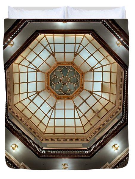 Inside The Dome Duvet Cover