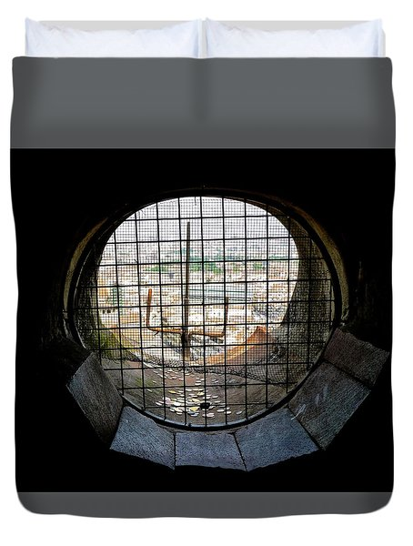 Inside The Duomo Dome 12 Years Later Duvet Cover by Amelia Racca