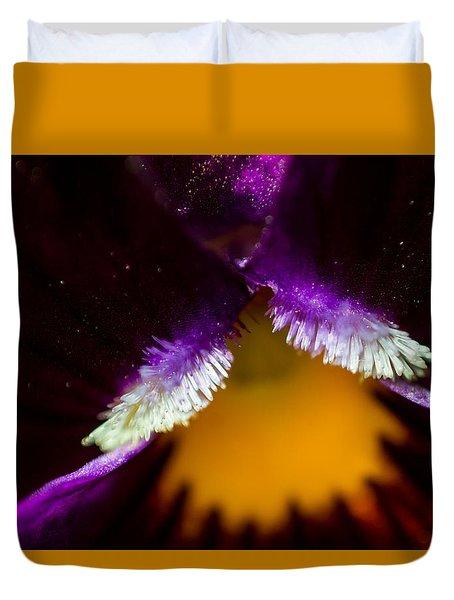 Inside The Flower 3 Duvet Cover