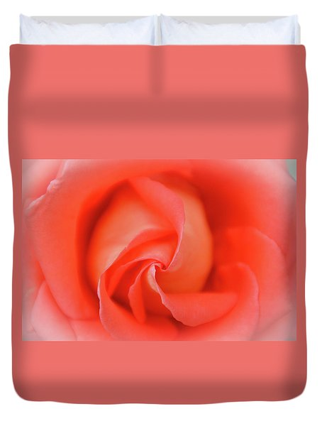 Inside The Rose Duvet Cover