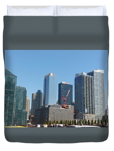 Insomnia City Duvet Cover