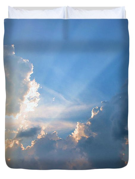 Inspiration Point Duvet Cover by Kristin Elmquist