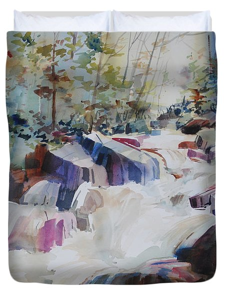 Inspiration Point Duvet Cover