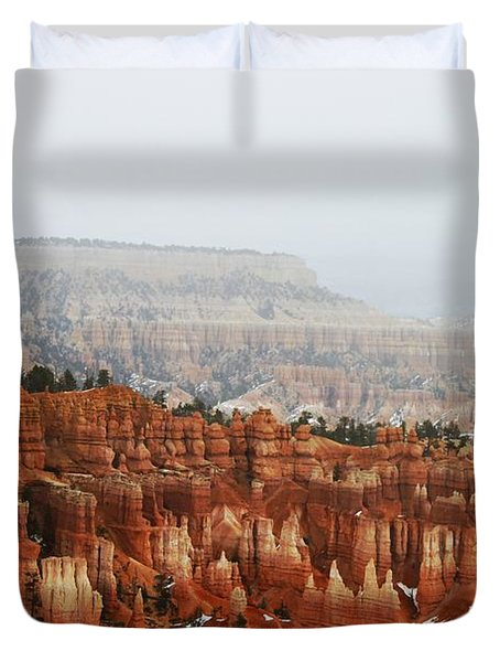 Inspiration Point Duvet Cover by Scott Cameron
