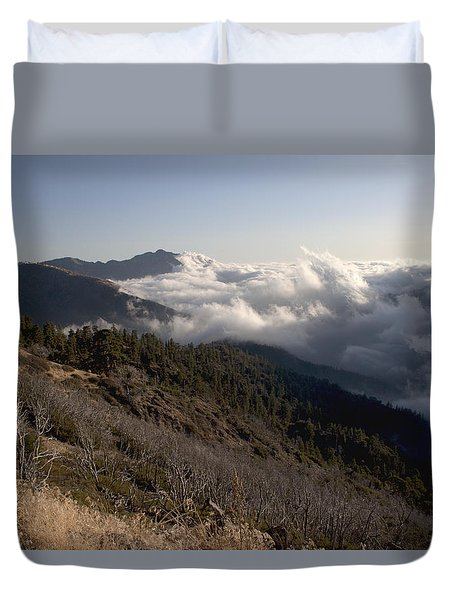 Inspiration Point View Duvet Cover by Ivete Basso Photography
