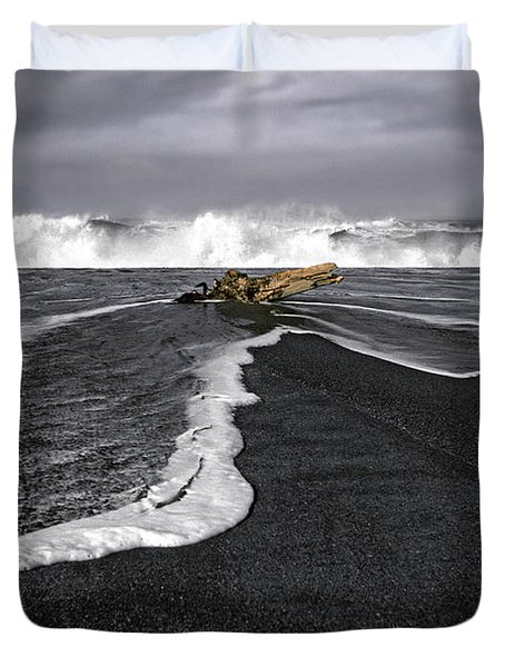 Inspirational Liquid Duvet Cover