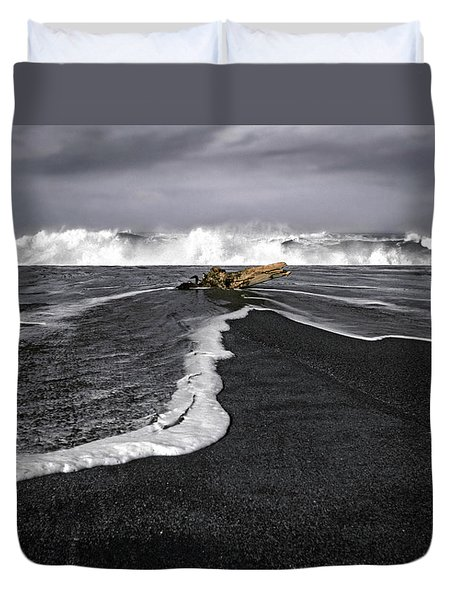 Inspirational Liquid Duvet Cover