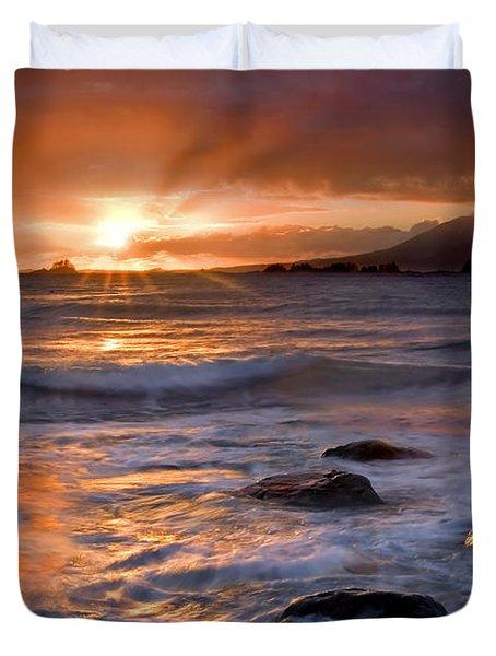 Inspired Light Duvet Cover