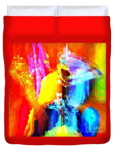 Inspired To Interpret Duvet Cover