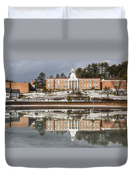 Institute Relections Duvet Cover