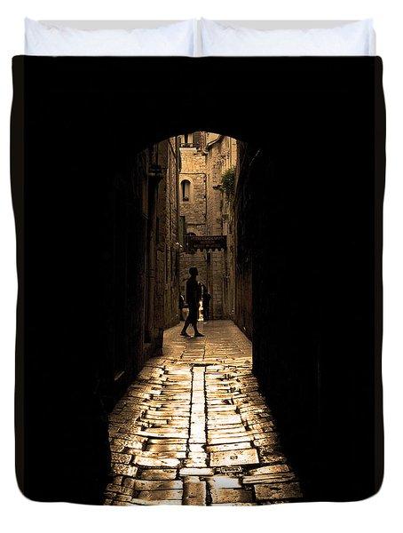 Insular Calm Duvet Cover by Andrew Paranavitana