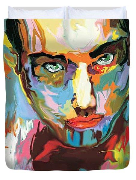 Intense Face 2 Duvet Cover