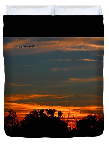 Intense Sky Duvet Cover