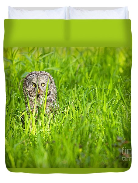 Duvet Cover featuring the photograph Intensity by Aaron Whittemore