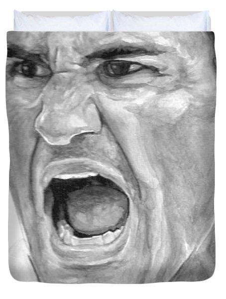 Intensity Federer Duvet Cover by Tamir Barkan