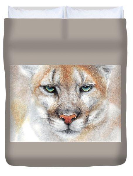 Intensity - Mountain Lion - Puma Duvet Cover